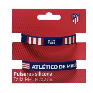 Bransoletka silikonowa 2 pak Atlético de Madrid