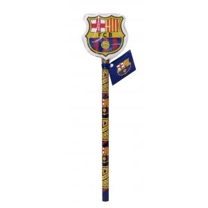 Ołówek z gumką FC Barcelona