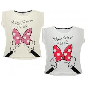 T-shirt damski Myszka Minnie