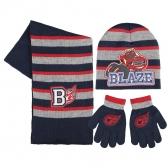 Czapka, szalik i rękawiczki Blaze i Mega Maszyny