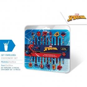 Ołówki z gumką Spiderman 12 szt