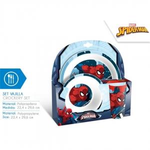 Zestaw śniadaniowy Spiderman 3 el.