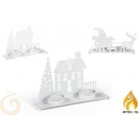 Stojak świąteczny na świeczki - 2 wzory