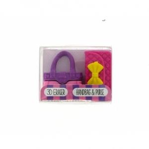 Gumki do mazania – zestaw mała torebka i portmonetka