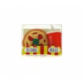 Gumki do mazania – zestaw pizza + cola