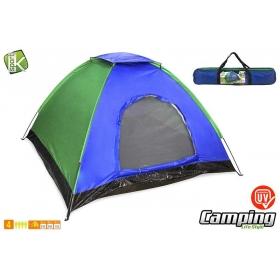 Namiot turystyczny 4 osobowy 200x200x135