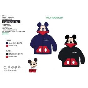 Bluza niemowlęca z kapturem Myszka Mickey