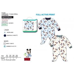Pajac / Piżama polarowa Myszka Mickey