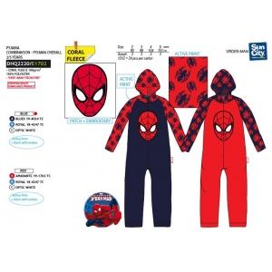 Pajac / Piżama polarowa Spiderman