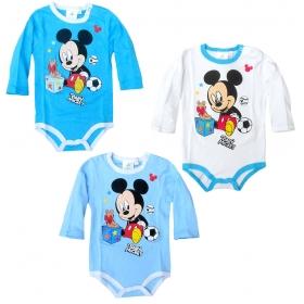 Body niemowlęce długi rękaw Myszka Mickey