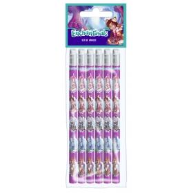 Zestaw ołówków 6 szt. Enchantimals