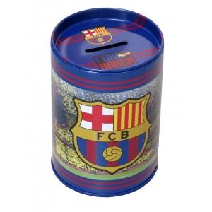 Skarbonka metalowa FC Barcelona