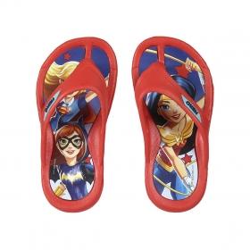 Klapki, japonki Superhero girls