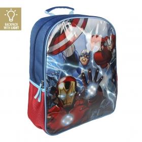 Plecak Avengers ze światłami LED 41 cm