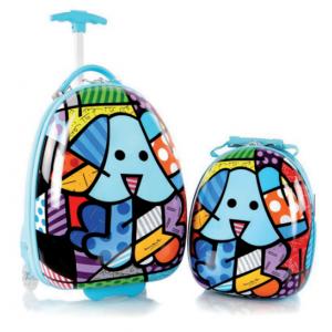 Zestaw: ultra lekka walizka i plecak Heys - Pies