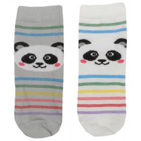 Skarpety niemowlęce panda