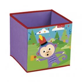 Pudełko na zabawki Fisher Price – małpka