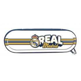 Piórnik metalowy Real Madryt