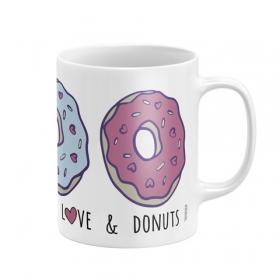 Kubek ceramiczny Zaska - Donut