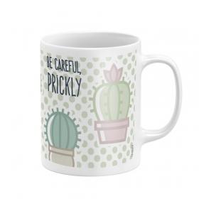 Kubek ceramiczny Zaska - Kaktusy