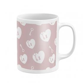 Kubek ceramiczny Zaska - Serce