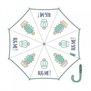 Parasol automatyczny Zaska - Kaktusy