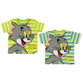 Tom and Jerry short sleeve baby t-shirt