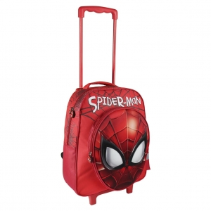 Plecak na kółkach 3D Spiderman 41 cm