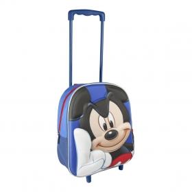 Plecak na kółkach 3D Myszka Mickey 31 cm