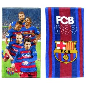 Ręcznik do twarzy FC Barcelona - losowy model