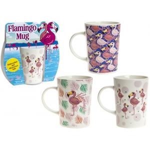 Kubek ceramiczny Flaming - losowy kolor