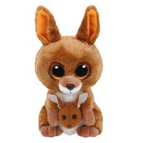 Maskotka pluszowa kangur Kipper Beanie Boos 24 cm