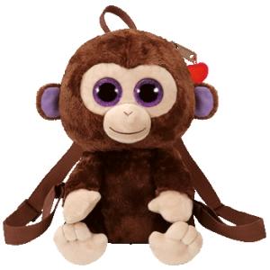 Plecak pluszowy małpka Coconut Ty Gear 25 cm