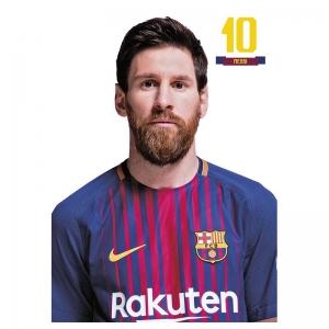 Kartka pocztowa Messi FC Barcelona