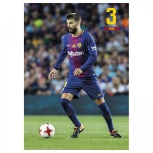 Kartka pocztowa Pique FC Barcelona