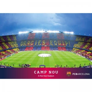 Kartka pocztowa – Camp Nou FC Barcelona