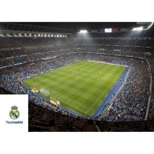 Kartka pocztowa – stadion Real Madryt