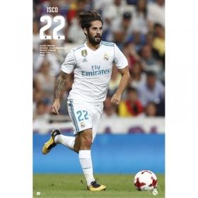 Plakat Isco Real Madryt