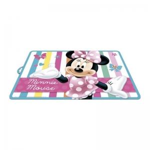 Mata plastikowa na biurko Myszka Minnie 40x29 cm