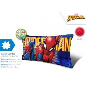 Jumbo poduszka welurowa Spiderman
