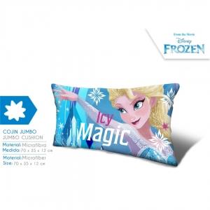 Jumbo poduszka z mikrofibry Frozen - Kraina Lodu