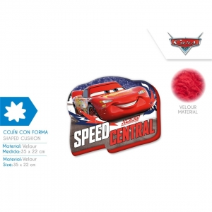 Poduszka welurowa Cars - Auta