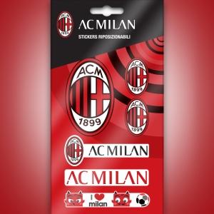 Naklejka zdejmowalna AC Milan