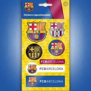 Naklejka zdejmowalna FC Barcelona