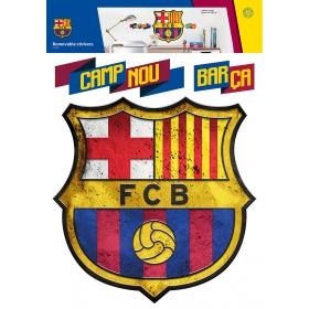 Naklejka ścienna zdejmowalna FC Barcelona