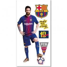 Naklejka ścienna zdejmowalna FC Barcelona – Messi