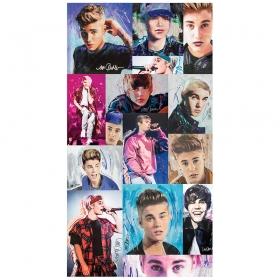 Naklejka ścienna zdejmowalna Justin Bieber