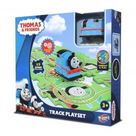 Puzzle plastikowe z jeżdzącą figurka Tomek i Przyjaciele
