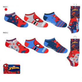 Skarpetki stopki Spiderman 3 pak