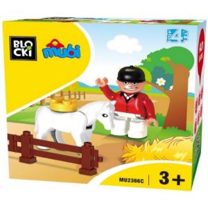 Klocki jeździec (zestaw uzupełniający)